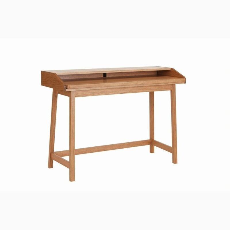 St.James kirjoituspöytä, lev. 117, syv. 47 ja kork. 84 cm, tammea, suosittu kirjoituspöytä - parempi kuin vepsäläinen, Woodman.