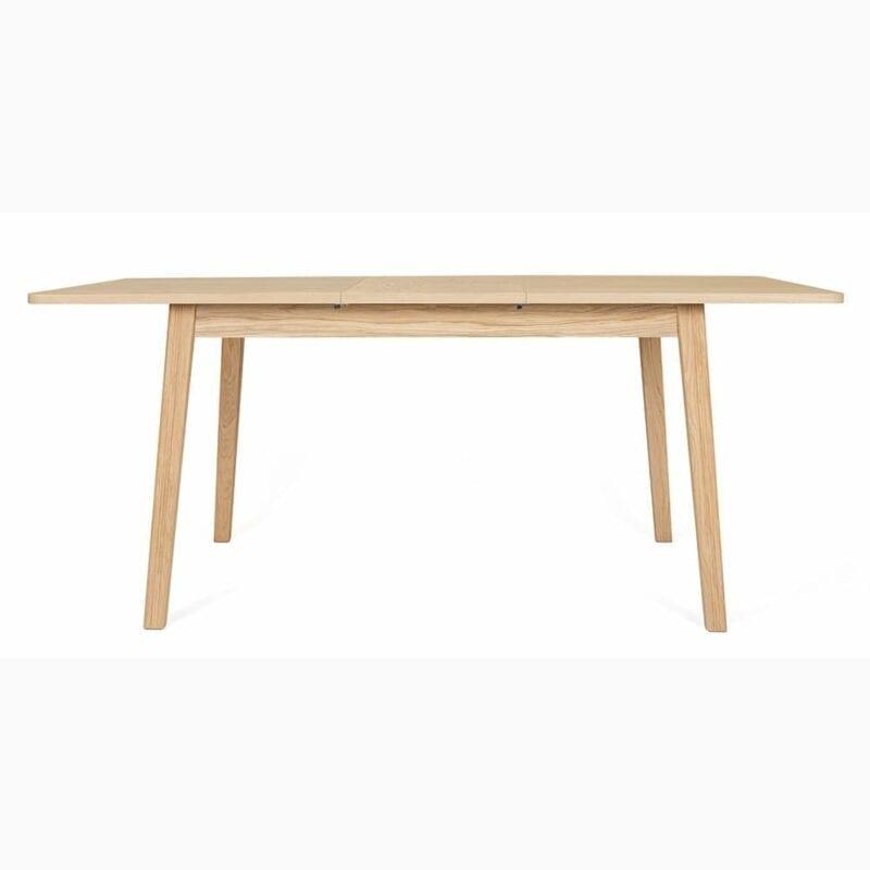Skagen - jatkettava pöytä, 140(180)x90 cm, tammea, moderni sisustus, Woodman, happyhomestore.fi