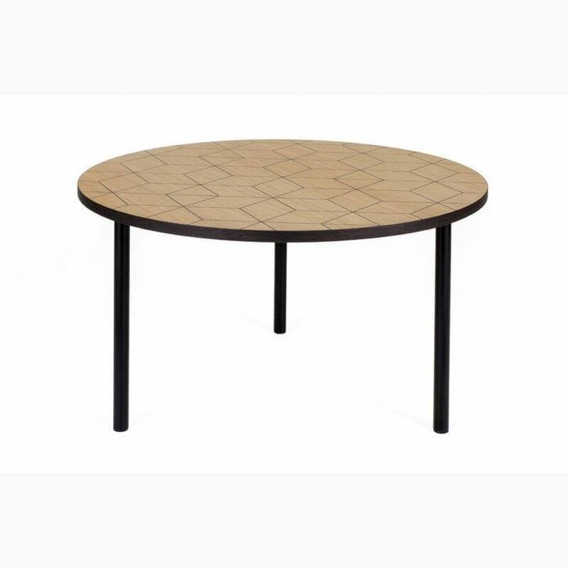 Arty 70 sohvapöytä, lev. 70cm ja kork. 40 cm, tammi/metallijalat, Woodman, happyhomestore.fi