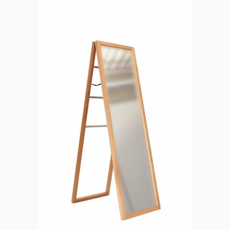 NewEst peili, lev.60, syv.65 ja kork. 165 cm, peili/tammirunko, Woodman.