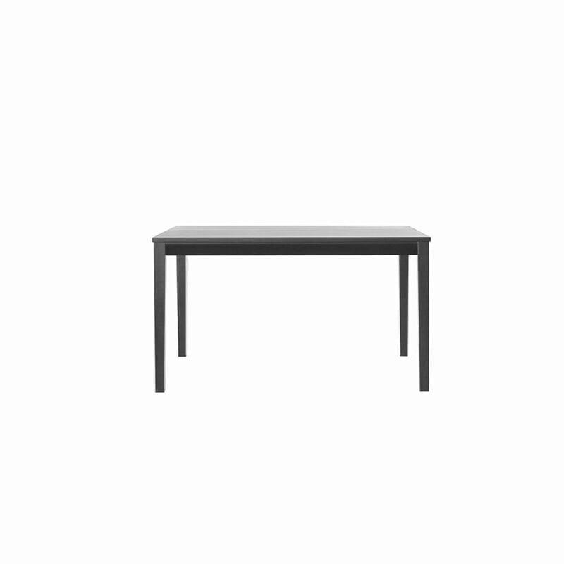 Tainus-pöytä, 135 x 85 cm, mustaksi petsattua koivua, Juha Mäkelä design.