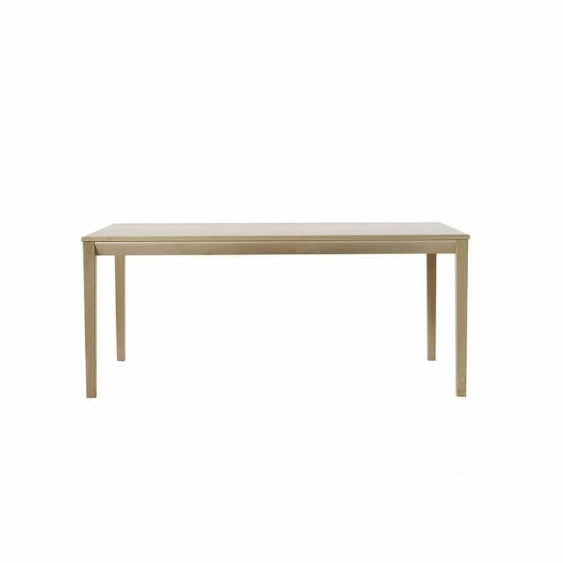 Tainus-pöytä, 180x95 cm, koivua, Juha Mäkelä design.