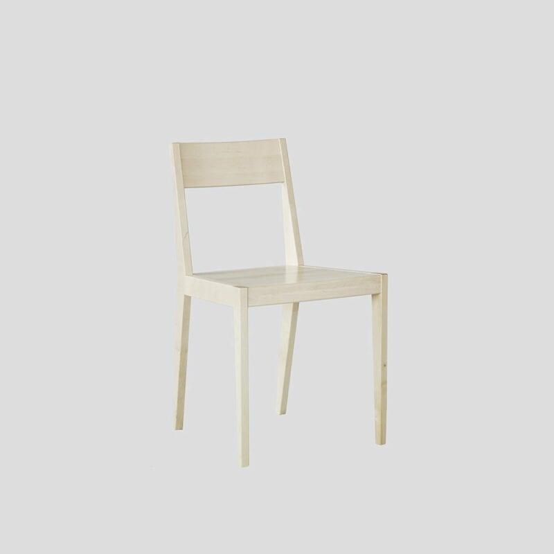 Tainus-tuoli, koivua, Juha Mäkelä design.