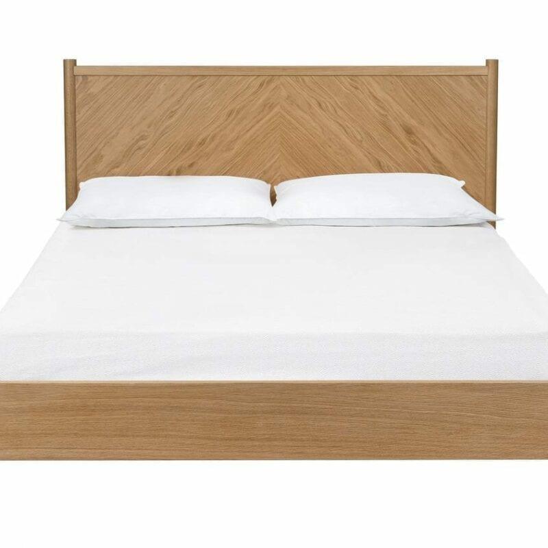 Farsta-sänky 180x200, tammisänky, Woodman, happyhomestore.fi